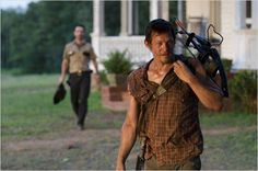 Foto Andrew Lincoln, Norman Reedus