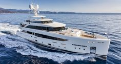 Mondomarine, one of yachting's most forward-thinking yacht makers, built some noteworthy innovations into the new Mondomarine Serenity. The first in the company's SF line, Serenity's six-s… Yacht Design, Boat Design, Monaco Yacht Show, Assurance Auto, Guest Cabin, Speed Boats, Luxury Yachts, Models, Boats For Sale