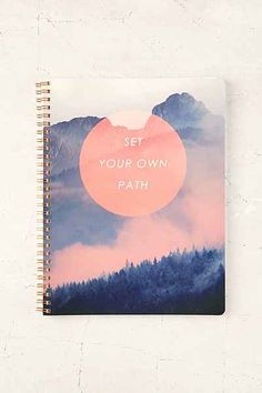 Set Your Own Path Notebook - Urban Outfitters
