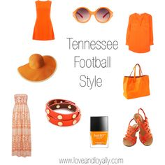 Game day style + Tennessee Vols