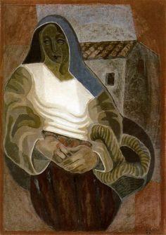 'La Paysanne' - Juan Gris (1887–1927)