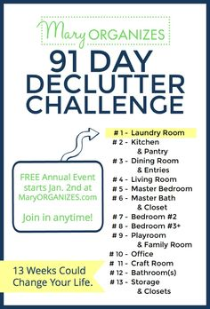 91-day-declutter-challenge-weekly-assignments-join-anytime