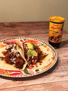 Slow Cooked Shredded Chicken Mole Tacos – Life Of A Mom 2 Blog