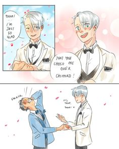 Just when we think we couldn't go further into how extra Viktor is, Kubo hits us with this story, omfg