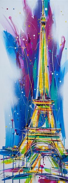 Eiffel Tower Paris - All You Need to Know Before You Go - Interesting Facts Eiffel Tower Painting, Eiffel Tower Art, Paris Torre Eiffel, Image Paris, Paris Images, Ville France, Paris Love, Paris Art, Photos Voyages