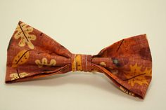 Fall Leaves Bow Hair Band by LittlePeachFuzz on Etsy, $3.00