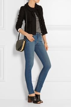 Frame Denim jeans and top