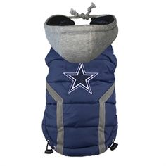 Dallas Cowboys Dog Puffer Vest