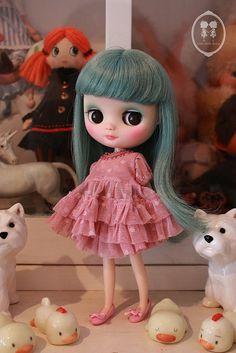 My Custom Commissions Middie Blythe Doll | Flickr - Photo Sharing!