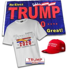 62db3aa6f35b $10 Off! Only $28.98 Includes Re-Elect Trump Flag, MAGA Hat, Trump