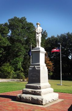 Albany GA Events- (Confederate Memorial in Albany, GA.).