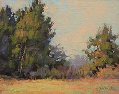 """Looking Beyond by Barbara Jaenicke Oil ~ 8"""" x 10"""""""