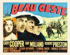Movie Poster - Beau Geste (1939)