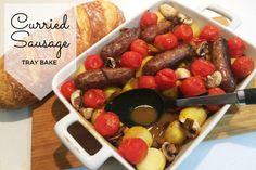 Curried Sausage Tray Bake Recipe