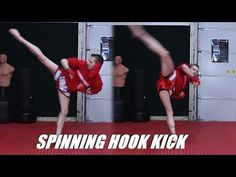 Taekwondo Spin Hook Kick Tutorial for MMA & Kickboxing | 60fps - YouTube