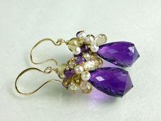 http://www.etsy.com/listing/61254772/earrings-amethystchampagne