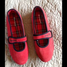 Champion Red Suede Mary Jane Shoe Size 8  NWOT NWOT Red Suede Mary Jane Champion shoes.  Size 8 Champion Shoes Flats & Loafers