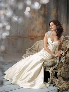 indoor bridal portrait - pose …