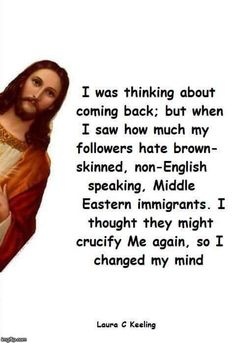 The REAL Jesus was a brown skinned, Middle Eastern Jew, that should shake up the GOP !
