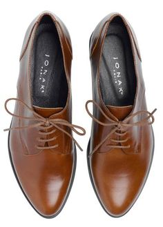 Derbies cuir BARK by JONAK