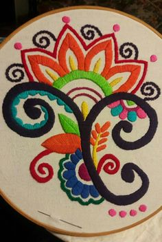 Crewel Embroidery Patterns Embroidery Stitches Names Embroidery Library Sign In Name Embroidery, Mexican Embroidery, Embroidery Needles, Learn Embroidery, Embroidery Patterns, Crewel Embroidery Kits, Seed Stitch, Needlework, Pop Art