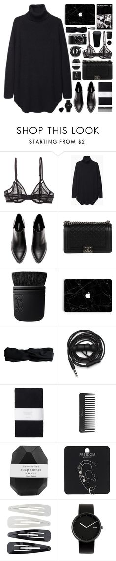 """""""240117"""" by rosemarykate ❤ liked on Polyvore featuring Calvin Klein, Chanel, NARS Cosmetics, Pieces, Urbanears, Toast, Sephora Collection, Pelle, Topshop and Forever 21"""