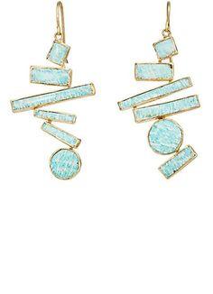 Judy Geib Suprematist Drop Earrings  - Earrings - 505323791