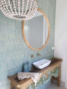 Mosaic Tiles, Wall Tiles, Tiles Online, Splashback, Tile Ideas, Bathroom Wall, Powder Room, Mint Green, Kit