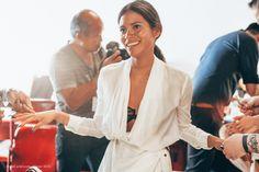 ss15 Honor, Backstage Model Juana Burga