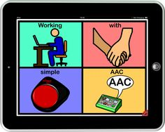 101 ideas for the implementation of AAC devices that are simple    This page is devoted to ideas that may prove useful for people working with electronic (mains charged or battery) AAC devices that are basically simple and thus cannot be used to communicate any idea or sentence.  Such devices typically include those with overlays (active cells or surfaces) of up to (but not exceeding) 32 locations.