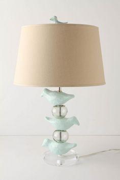 bird lamp..inspiration for dollhouse