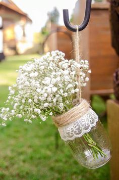 10 ideias de reciclagem potinhos de vidro flores decoração