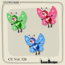 CU Vol. 326 Butterfly by Lemur Designs #CUdigitals cudigitals.com cu commercial digital scrap #digiscrap scrapbook graphics
