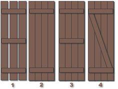 Board and Batten styles (open, closed, z bar)