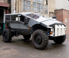 The concept of an armored car ZIL http://kiawiki.com/the-concept-of-an-armored-car-zil/