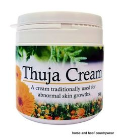 Farm Yard Remedies Thuja Cream A cream traditionally used for sacoids and other abnormal growths it is formulated using only the very best ingredients.