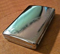 Kingstar Metal Floral Strong Box King\100s Size Cigarette Case