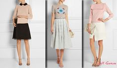 Outfits for Soft Gamine (KIbbe) - skirts.