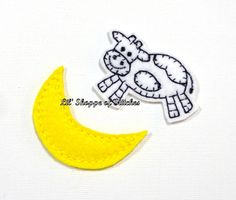 Hey, I found this really awesome Etsy listing at https://www.etsy.com/listing/221641406/embroidered-nursery-rhyme-felt-appliques
