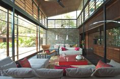 Modern Brick Kiln House, India | Adelto