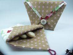 Tutorial: bosinha origami. Delicadíssima!