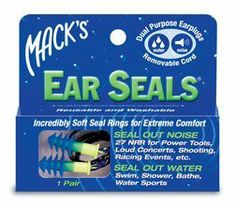 Excellent for anyone with hypersensitivity to sound.    Mack's Ear Seals Earplugs 1pr by Mack's, http://www.amazon.com/dp/B000GCI9CI/ref=cm_sw_r_pi_dp_nP-Sqb11NRPAP