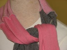 Upcycled Cashmere Scarf made from 100 cashmere sweaters by UpCDooZ, $30.00.  Oh, so soft.