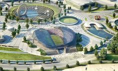 Stadium in Sochi. This will be a host venue for the 2014 Winter Olympics as well as the World Cup. Its capacity should be 47,659