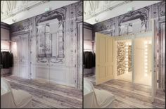 Maison Martin Margiela Store. Architect: Johnston Marklee & Associates.  Idea: Reuse in clothing and buildings.