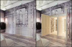 Maison Martin Margiela Store. Architect: Johnston Marklee & Associates.  Idea: Reuse in clothing and buildings.