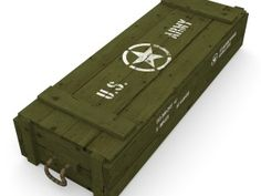 US army crate