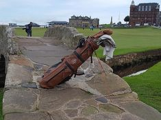 Custom leather golf bags