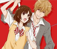 Day 8- fav anime couple- prepare for a long list i can't choose just one! This is Ookami Shoujo To Kuro Ouji wolf girl and black prince