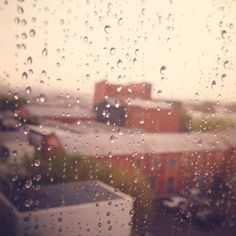 this is like the rain outside my office window right now